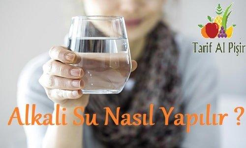 Alkali Su Nasıl Yapılır? I Alkali Su Zayıflatır mı? I Alkali Su Tarifi