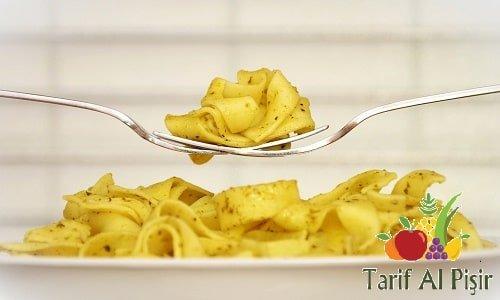 Tatlı Patatesli Makarna Tarifi I Patatesli Makarna Nasıl Yapılır?