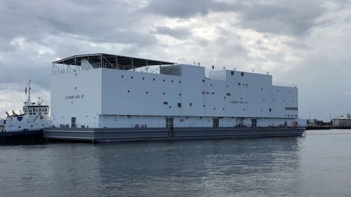 The Navy has a floating barracks that is somehow worse than living on an actual ship