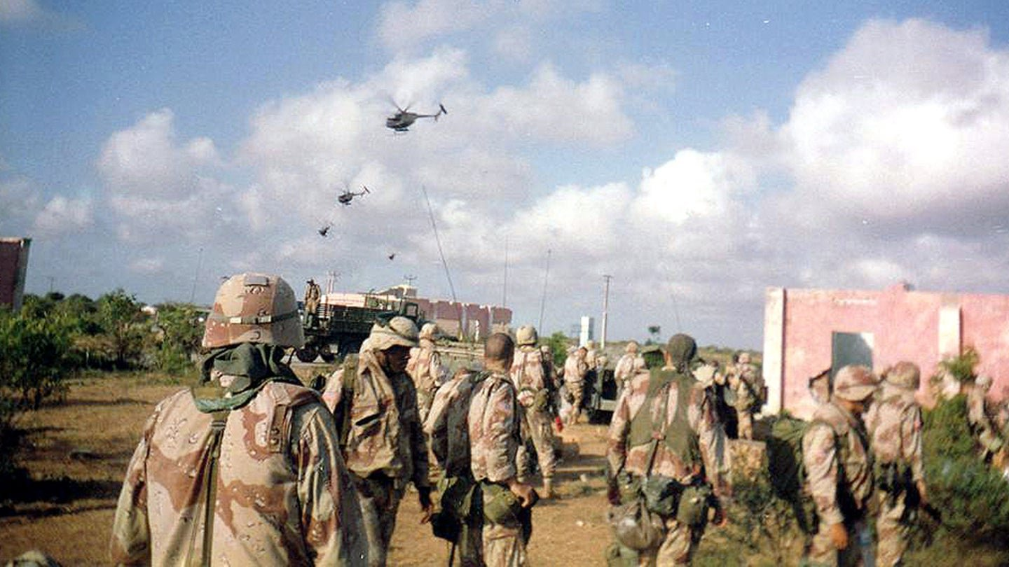 60 soldiers from 'Black Hawk Down' battle to have valor awards upgraded