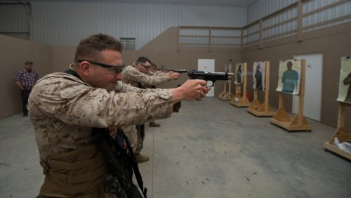 This US Marine quick reaction force has deployed twice in the last 30 days to protect American embassies