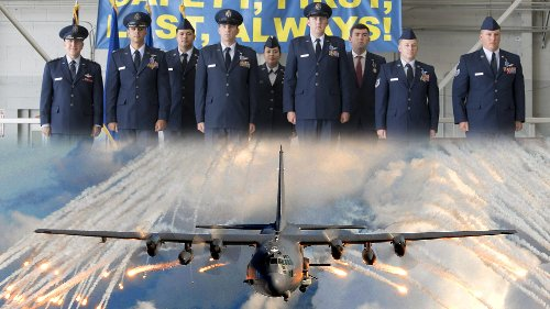 AC-130 crew awarded Distinguished Flying Cross for saving 88 lives in firefight
