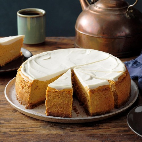 Maple Pumpkin Cheesecake