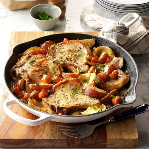 Easy Pork Dinners for Weeknights - cover