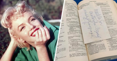 Marilyn Monroe's Personal Cookbooks JUST Went Up for Auction—and You Need to See Them
