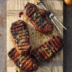 Discover grilled pork chops