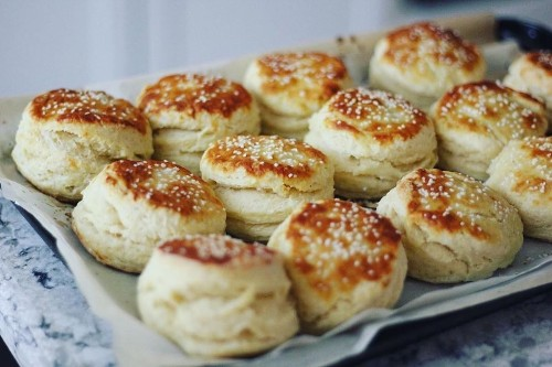 This Pretzel Biscuit Recipe Is Everything We've Been Dreaming Of