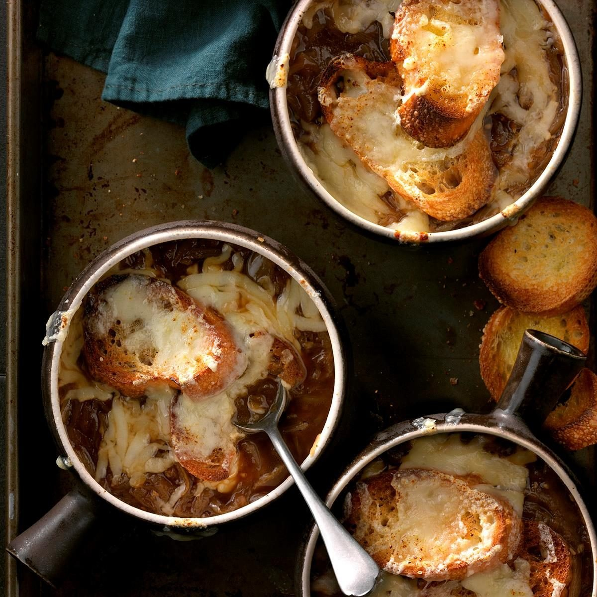 Inspired by:  Bistro French Onion Soup