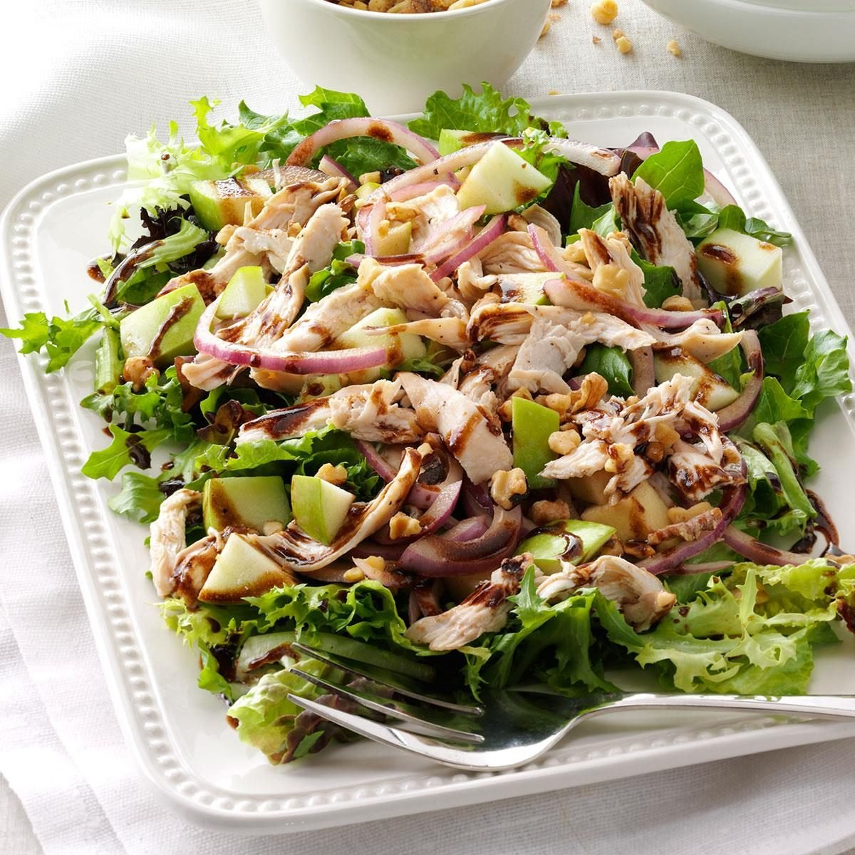 Inspired by: Fuji Apple with Chicken Salad