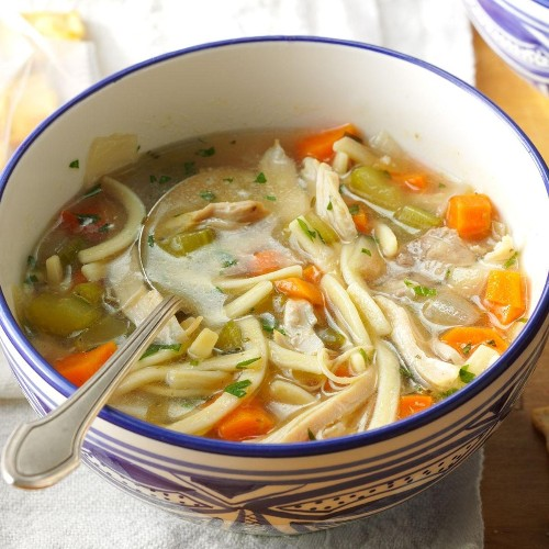 The Ultimate Chicken Noodle Soup