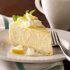 Discover white chocolate cheesecake