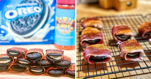 Bacon-Wrapped Oreos Are the Definition of Indulgence—Here's How to Make Them