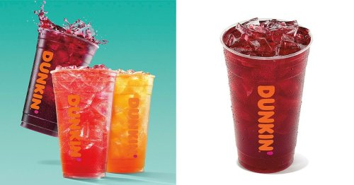 Dunkin' JUST Added a Brand-New Refresher to Its Menu