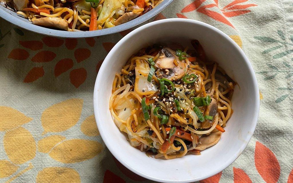 Asian Noodles - cover