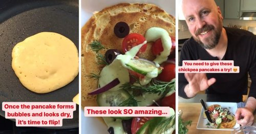 We Tried the Instagram-Famous Chickpea Pancakes—and Yes, You Need to Make Them