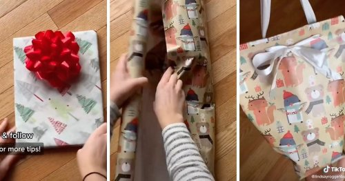 You've Been Wrapping Gifts the Wrong Way—Here's How
