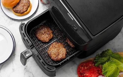 How to Cook Burgers in an Air Fryer