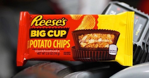 Reese's Is Rolling Out a NEW Big Cup PACKED with Potato Chip Pieces