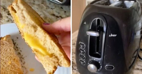 How to Make Grilled Cheese in Your Toaster—Yes, Really