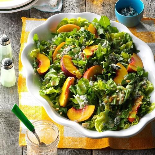 Nectarine Arugula Salad
