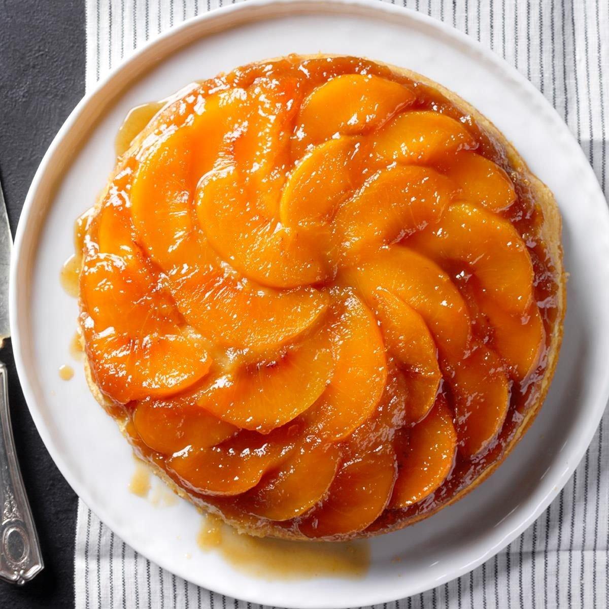 Southern Peach Upside-Down Cake