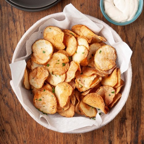 How to Make Homemade Potato Chips in a Snap