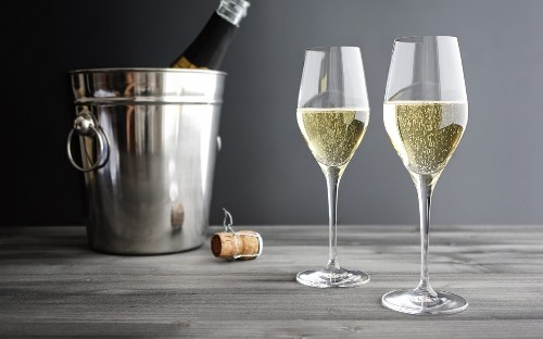 The Right Glass for Drinking Champagne