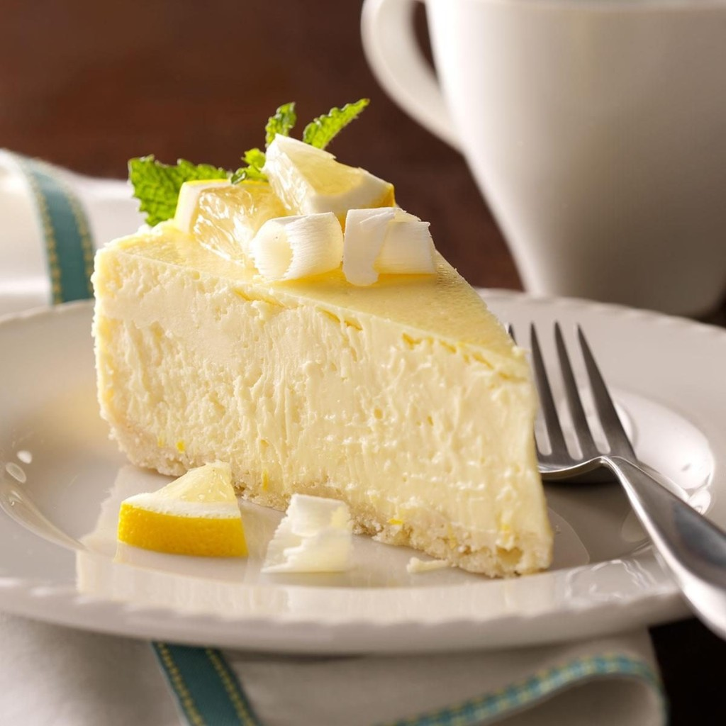 Discover white chocolate cheesecake