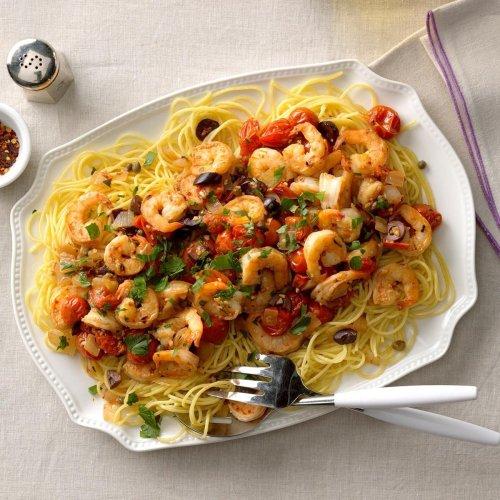 Shrimp Puttanesca