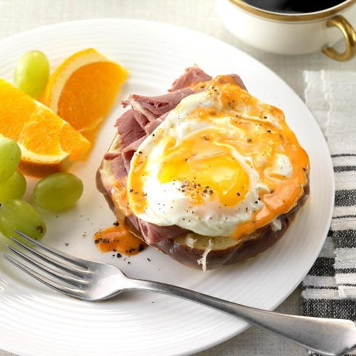 Reuben Eggs Benedict