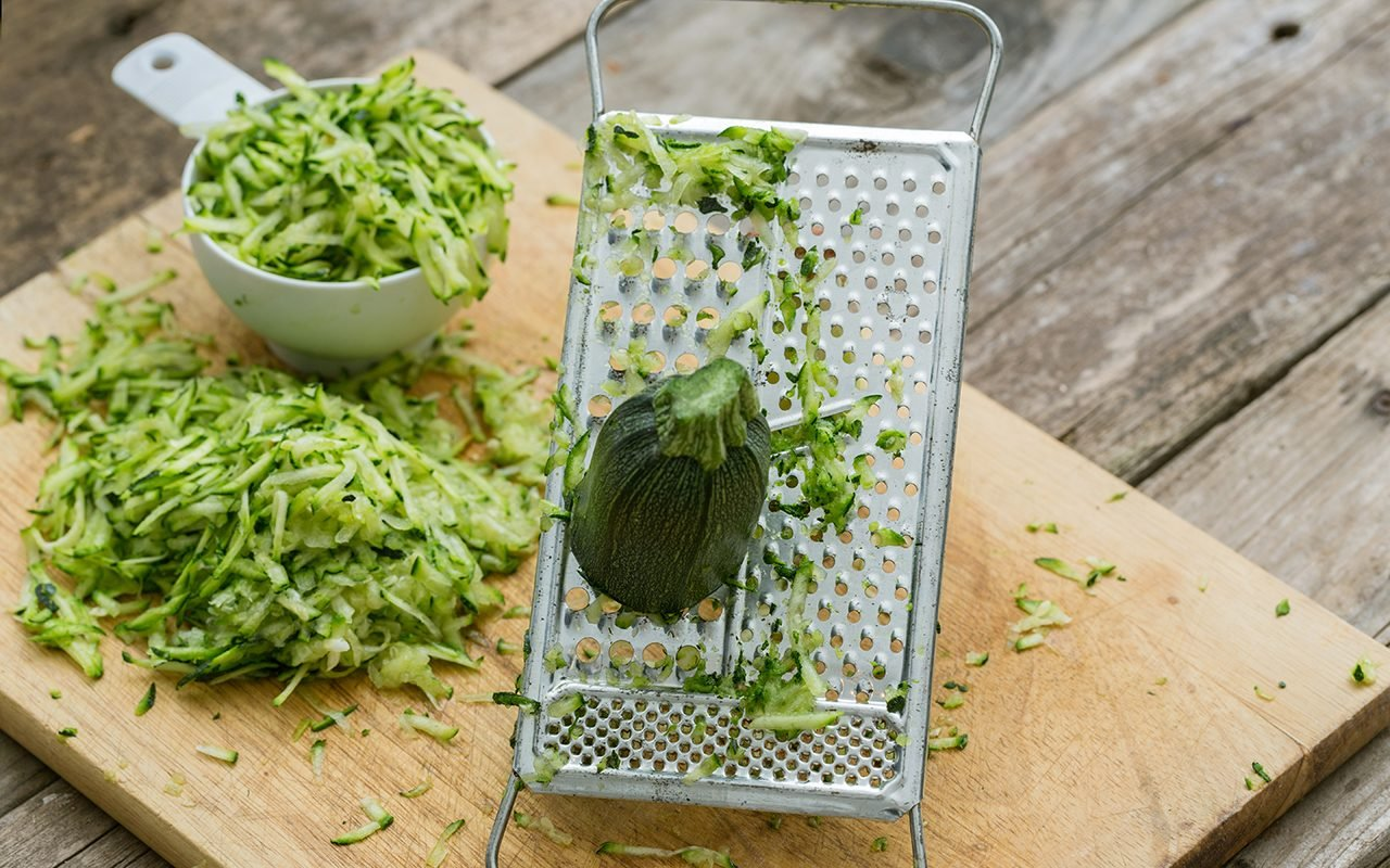 How to Grate Zucchini FOUR Ways