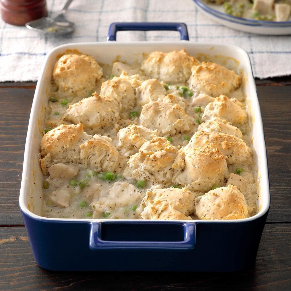 Chicken & Dumpling Casserole