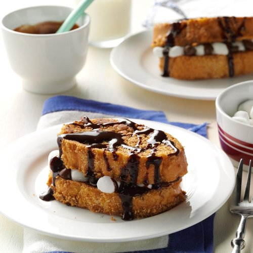 Inspired by: Woody's Lunch Box S'more French Toast Sandwich