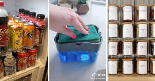 5 Genius Kitchen Storage Products We Found on TikTok