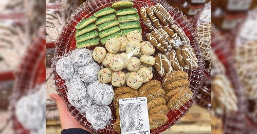 Costco Is Selling a GIANT Cookie Tray We're Definitely Not Leaving Out for Santa