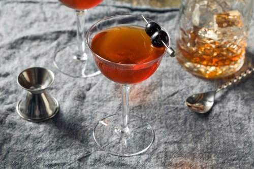 How To Make a Rob Roy, One of Fall's Best Cocktails