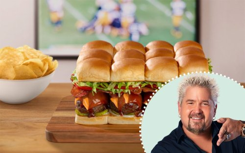 Guy Fieri Shared His Favorite Slider Recipe with Us—and It's Ridiculously Easy