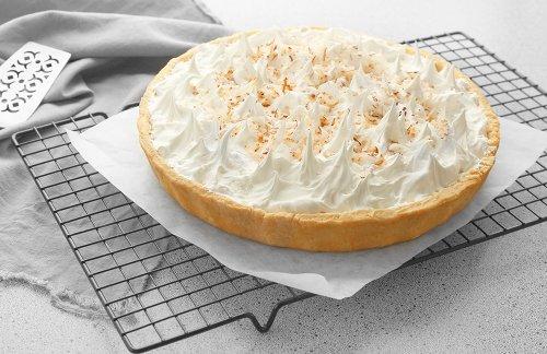 No-Bake Pina Colada Cream Pie