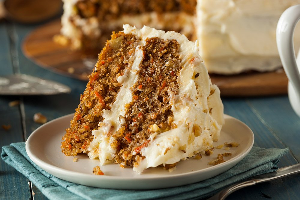Moist Pineapple and Carrot Cake