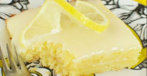 When Life Gives You Lemons, Make LEMON SHEET CAKE