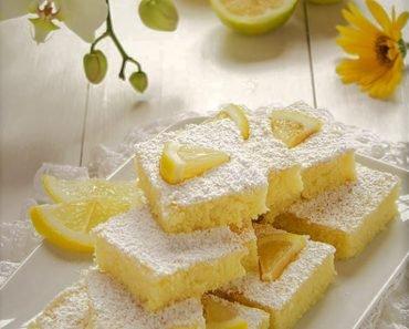 Creamy White Chocolate and Lemon Bars