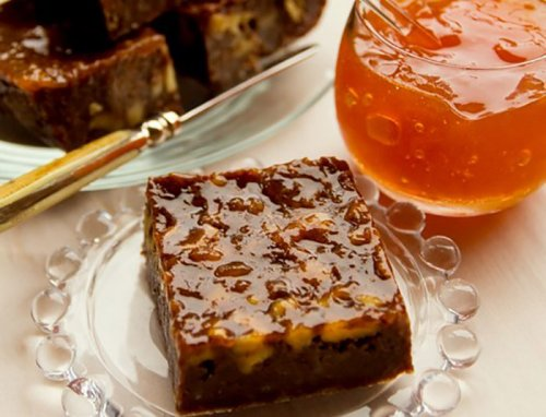 Palmer House Glazed Brownies