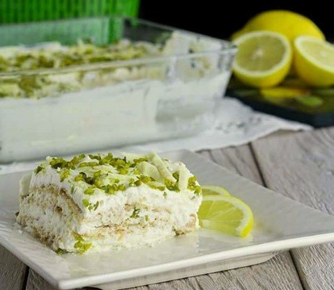 Key Lime and White Chocolate Tiramisu