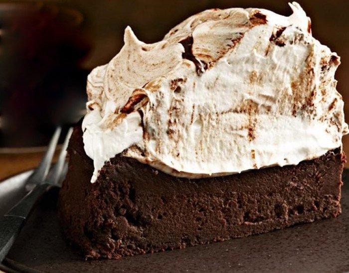 Flourless Chocolate Beer Cake
