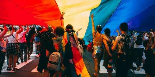 Vereint unterm Regenbogen