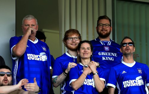 Some Ipswich Town fans react to Ed Sheeran shirt sponsorship news