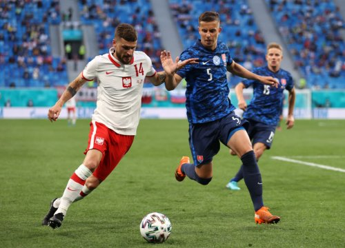 'Magic': Leeds star receives joint-highest rating from his nation's media for Euro 2020 display on Monday