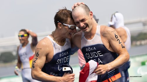 Paratriathlon Debut In Tokyo Exceeds All Expectations For Brad Snyder
