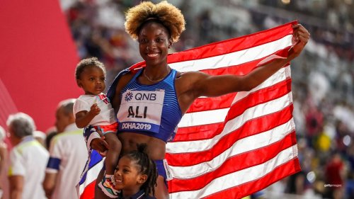 A Mother's Day Shoutout For These 12 Gold-Medal Moms Of Team USA