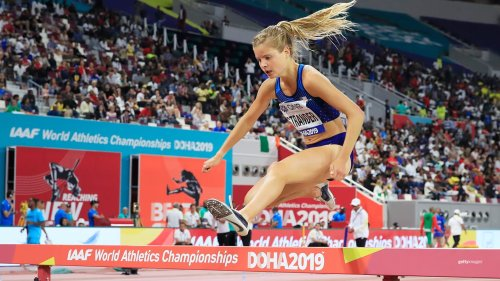 While In Eating Disorder Recovery, Allie Ostrander Makes It To Steeplechase Final